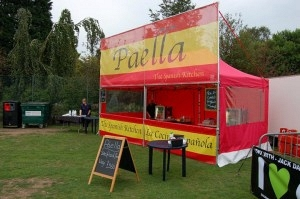The Spanish Kitchen – Paella Food Stall